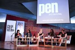 Chairing a panel at the Southbank Centre, London