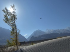Helicopters in the Hindu Kush