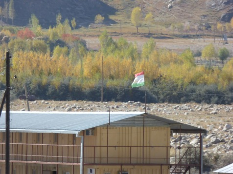 Afghan-Tajik border crossing at Ishkasim