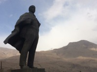 Lenin in former Soviet terriority (now GBAO, Badakhshan)