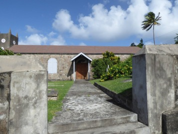 Oldest Anglican church on Montserrat