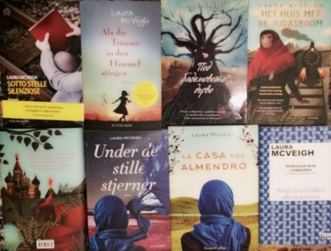 Debut novel - international editions